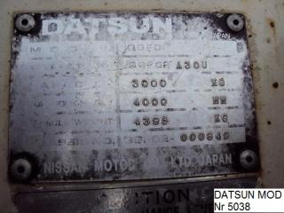 DATSUN A3OU
