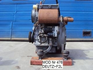 DEUTZ MOTOR F2L-1011F